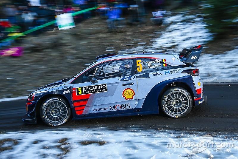 WRC in Monte Carlo: Neuville an der Spitze