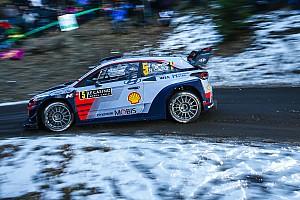 WRC 报告 蒙特卡洛拉力赛:诺伊维尔领先,奥吉尔展开追击
