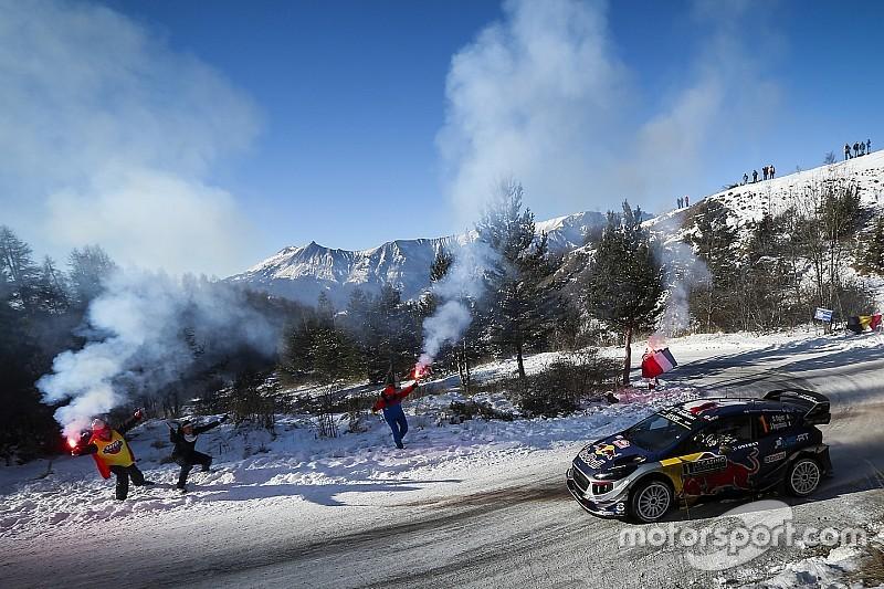 Sébastien Ogier toma el liderato en Montecarlo