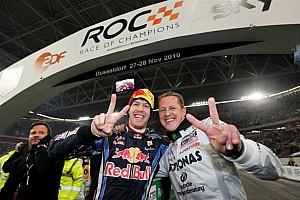 General Noticias de última hora Vettel recuerda a Schumacher en la Carrera de Campeones