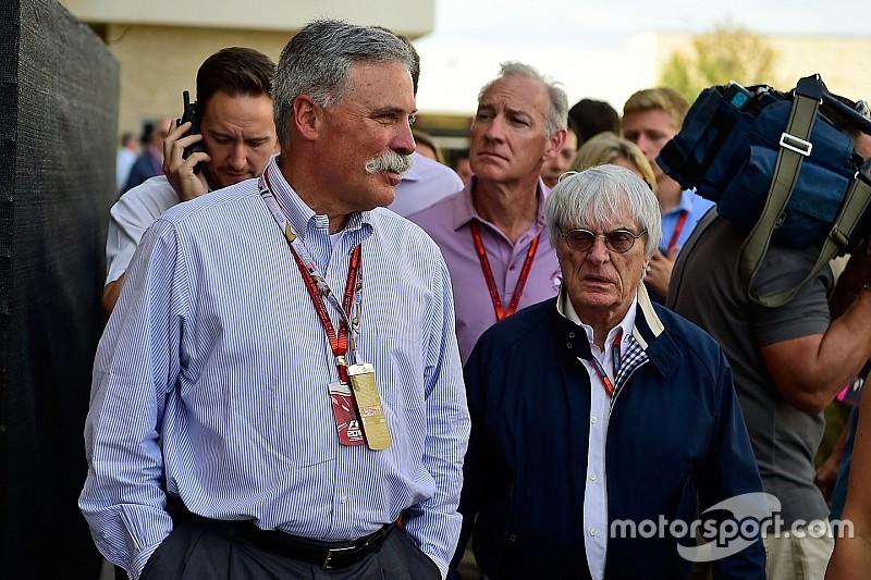 Carey: F1 não cresceu o quanto podia e precisava de mudança