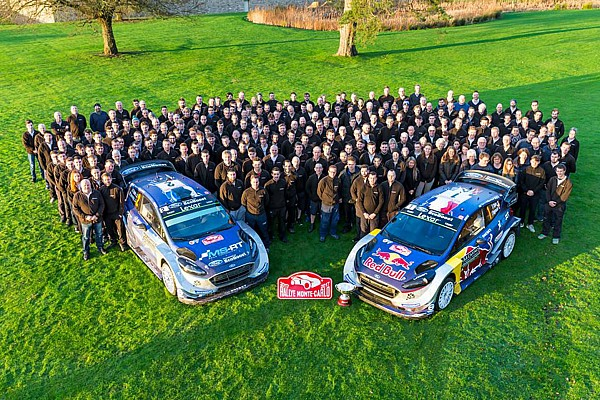 Ford M-Sport festeggia a Cockermouth il ritorno al successo dopo 5 anni