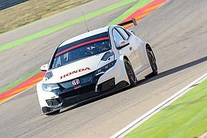 WTCC News Bildergalerie: Honda-Test in Aragon für WTCC 2017