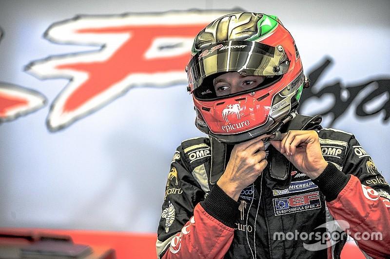 Damiano Fioravanti rejoint la F3.5 avec RP Motorsport