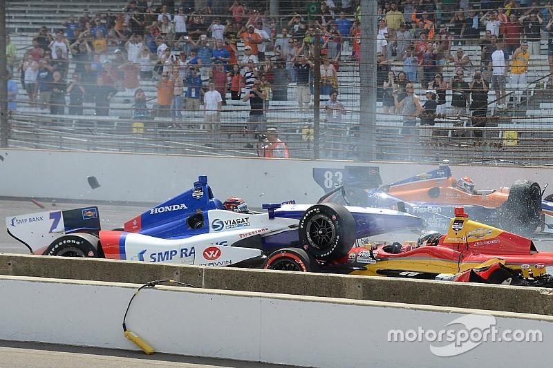 Aleshin defiende el peligro de IndyCar