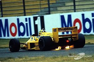 Формула 1 Избранное Пионеры активной подвески. История последних побед Сенны с Lotus