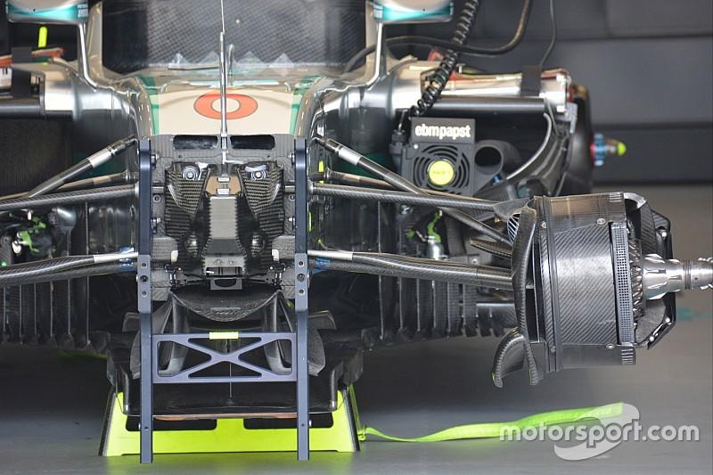 Formule 1-teams overwegen introductie van standaard onderdelen