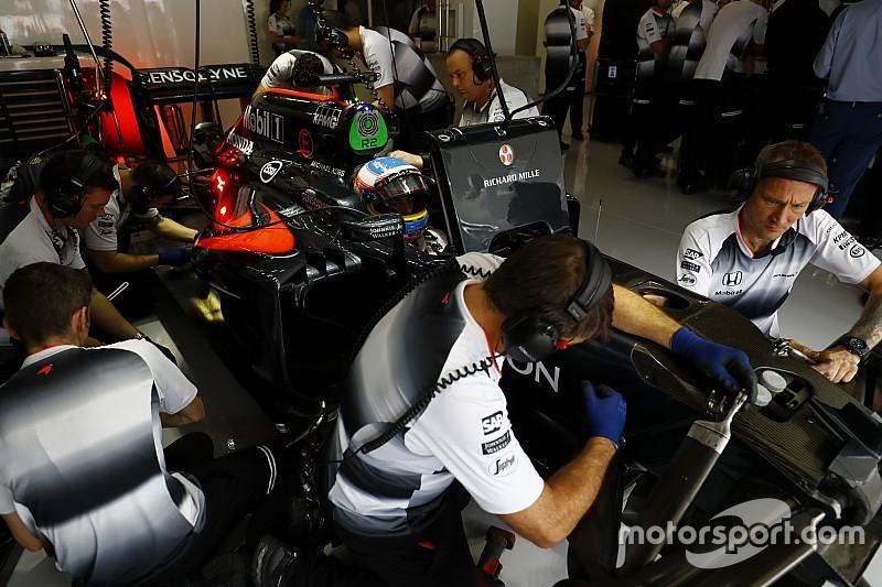 F1车队仍在争取标准化部件