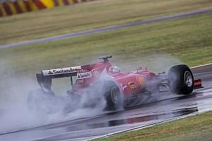 Формула 1 Новость Феттель попал в аварию на тестах во Фьорано