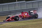 Ferrari é forçada a desistir de teste após batida de Vettel