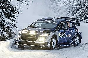 WRC Prova speciale Svezia, PS10: Tanak batte Neuville per 1 decimo. Paddon in crisi