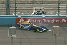 IndyCar Rossi chocó en Phoenix