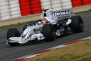 Formel 1 Historie Vor 10 Jahren: Formel-1-Testfahrten 2007 in Barcelona