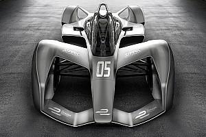 Formule E Diaporama Spark présente un concept de la future Formule E