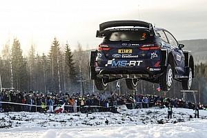 WRC Fotostrecke Bildergalerie: Die spektakulärsten Sprünge bei der WRC-Rallye Schweden