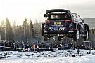 WRC Bildergalerie: Die spektakulärsten Sprünge bei der WRC-Rallye Schweden
