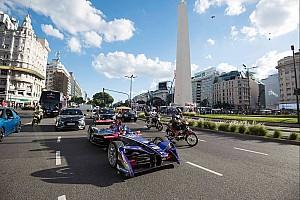 Formula E Top List Galería: el recorrido de José María López por las calles de Buenos Aires