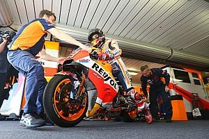 MotoGP Réactions Márquez enfin plus à l'aise avec sa Honda