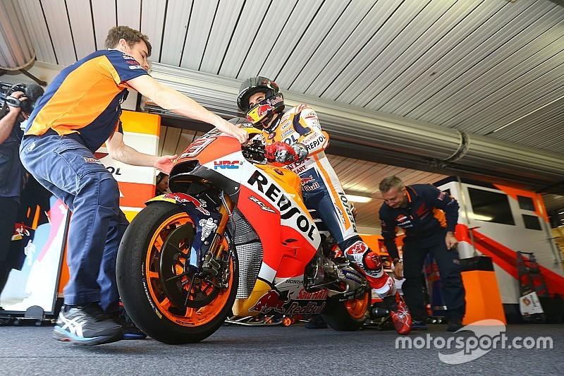 Márquez enfin plus à l'aise avec sa Honda