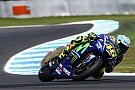 Moeizame testweek voor Rossi: