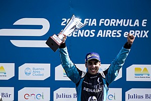 """电动方程式 比赛报告 布宜诺斯艾利斯ePrix正赛:布耶米首夺""""帽子戏法"""""""