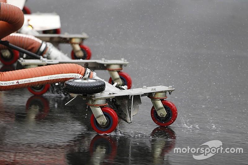 Daytona Clash pospuesto para el domingo por lluvia