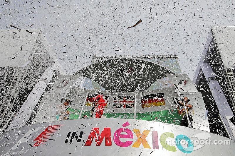 El GP de México consigue una ganancia económica de 12 mil millones de pesos