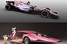 Así reaccionaron la redes sociales sobre el Force India rosa