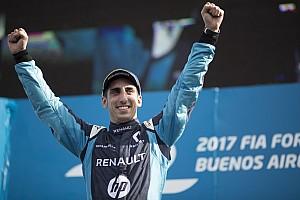 Formel E News Sebastien Buemi: Lucas di Grassi und Abt-Audi haben Riesenglück