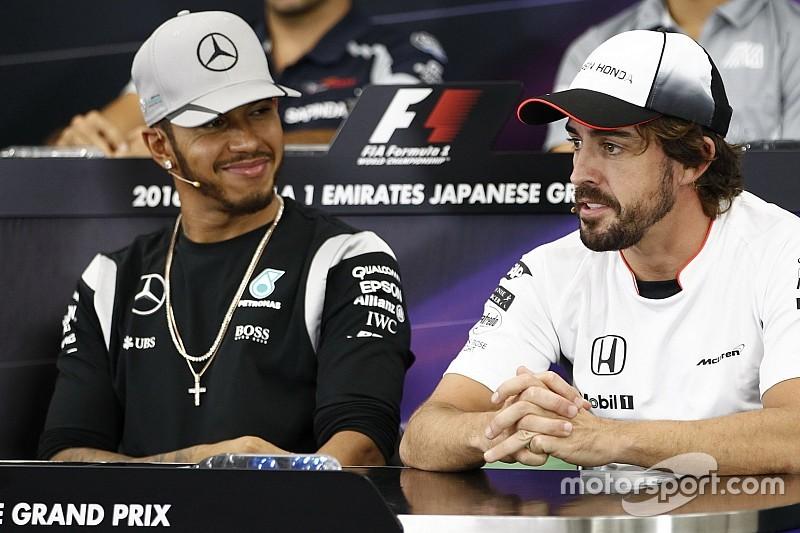 Хэмилтон приблизился к Алонсо в опросе болельщиков Ф1
