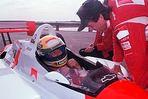 IndyCar Special feature Ketika Aryton Senna mencoba mobil IndyCar
