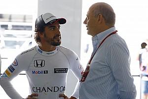 Формула 1 Новость Алонсо: Участие в «Инди 500» было бы невозможным при Деннисе