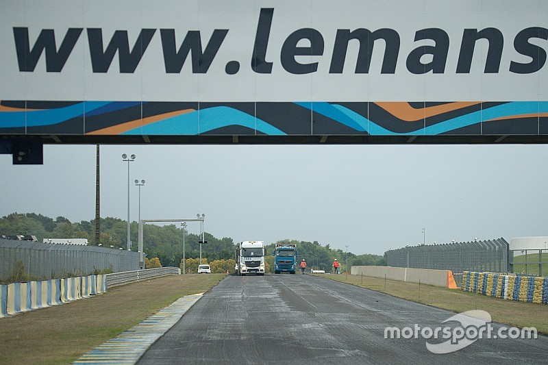 Le nouvel asphalte du Mans prisé par les pilotes