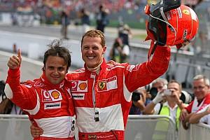 Fórmula 1 Noticias Massa se acuerda de Schumacher cuando tiene que hacer de tutor de Stroll
