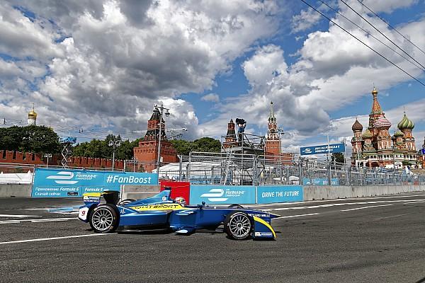 Формула E Новость Москва поборется с Цюрихом за этап Формулы E