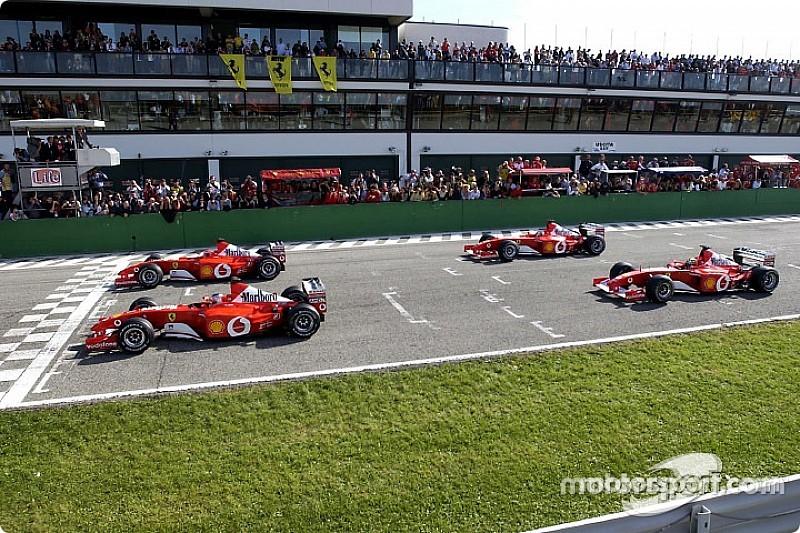 Концепт: сучасна Ferrari Ф1 у лівреї 15-річної давнини