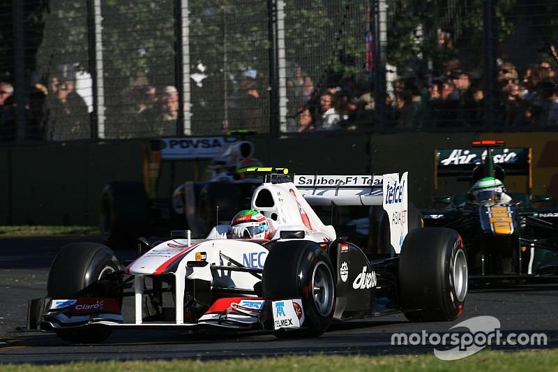 A la venta el primer F1 de Sergio Pérez