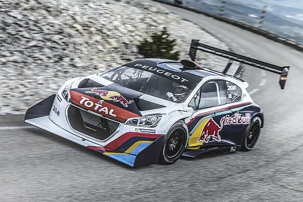 Bergrennen News Sebastien Loeb fährt wieder im wuchtigen Peugeot 208 T16