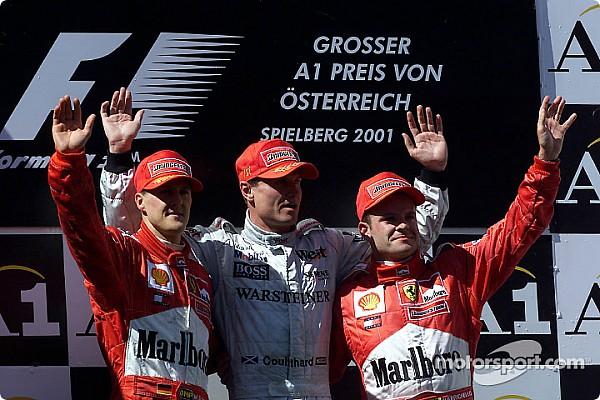 Palmarès - Les vainqueurs du GP d'Autriche depuis 2000