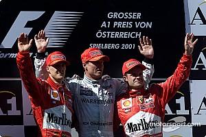 Formule 1 Diaporama Palmarès - Les vainqueurs du GP d'Autriche depuis 2000