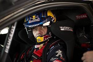 Rallye-Raid Rapport d'étape Étape 1 - Loeb emmène un triplé Peugeot