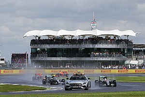 Формула 1 Анонс Гран При Великобритании: в воскресенье ожидается дождь