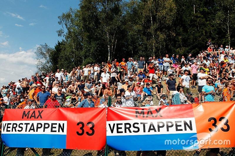 Belçika GP'de Schumacher'den sonra Verstappen'in etkisi görülüyor