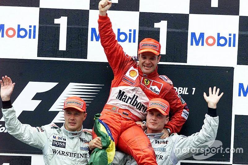 Vor 17 Jahren: Rubens Barrichello trotzt dem Regen in Hockenheim
