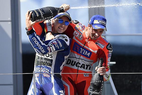 """Iannone: """"Lorenzo está llegando, aquí será de los más rápidos"""""""