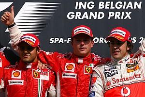 GALERIA: Confira os 10 últimos vencedores do GP da Bélgica