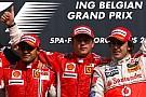 Fórmula 1 GALERIA: Confira os 10 últimos vencedores do GP da Bélgica