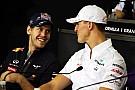 Sebastian Vettel: Darf keine Kopie von Michael Schumacher sein