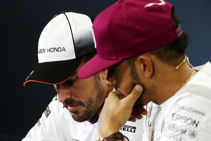 Алонсо і Хемілтон відвідають прес-конференцію FIA у четвер