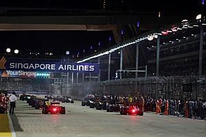 Текстова трансляція гонки Гран Прі Сінгапуру